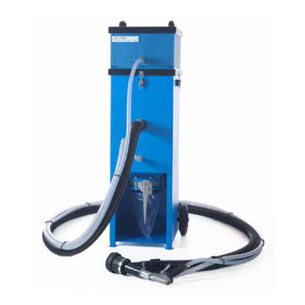 Dust Free Vacuum Blast System