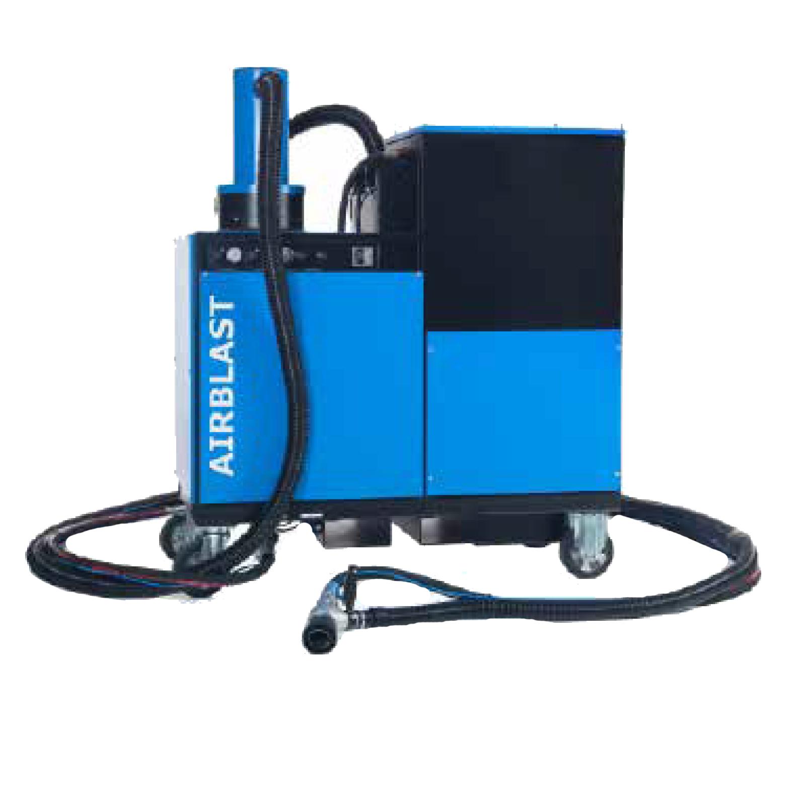 AB-1060 Dust Free Vacuum Blast System